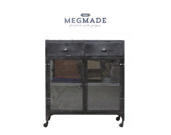 1234-02257 Customizable Metal Bar Cart