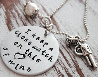 I Keep a Close Watch on this Heart of Mine Necklace