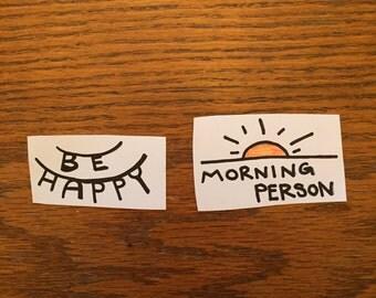 Simple Things Sticker Set