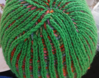 Spring Garden Reversible Brioche Hat