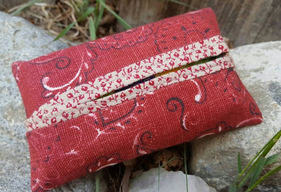 Red Bandana Tissue  Case
