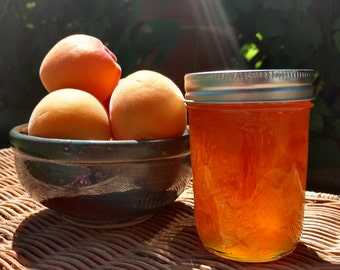Apricot Jam, Naturally grown, Oregon Pacific Northwest