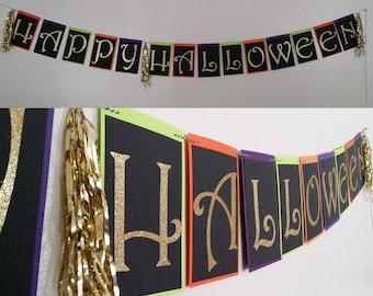Halloween Banner (ready to ship)
