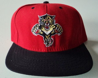 Vintage Florida Panthers American Needle Deadstock Snapback Hat NHL VTG