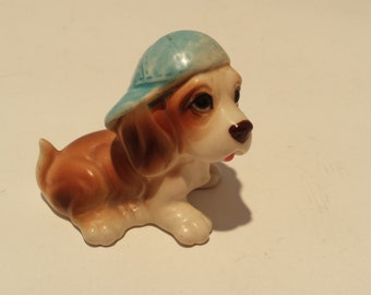 Vintage Dog with Cap  A710