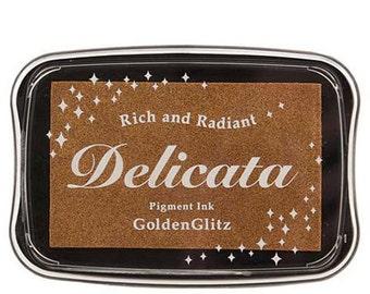 Delicata Golden Glitz Ink Pad