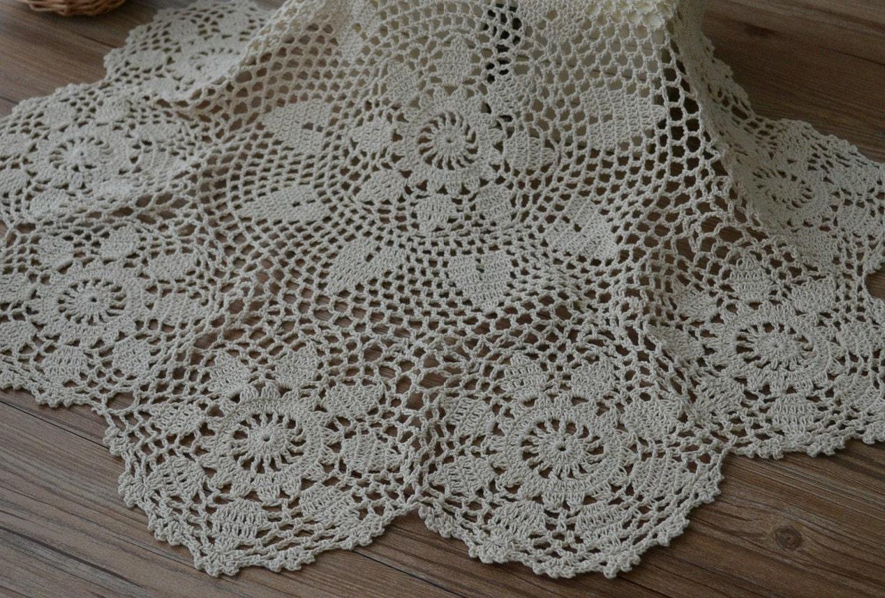 Crochet Pineapple Doily Table Topper.Free Crochet Patterns For ...