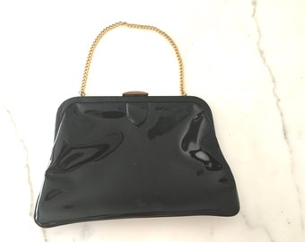 Vintage ENGBER Patent Leather Purse