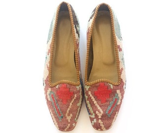 Kilim shoes. US size 10 (EU size 40)