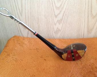 Julius Boros Golf club bottle opener w/premium CHROME OPENER