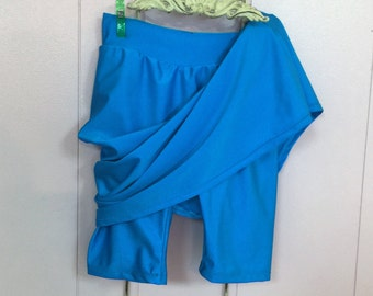 Ladies Plus Size Swim Or Sports Skirt With Attached Shorts / Please allow 3 -4 weeks for processing before shipment