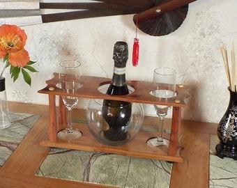 16 - Champagne Ice Bowl (1) Stemmed Glass (2 station) Split 375ml