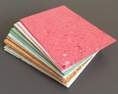RECYCLED PAPER - 10 MULTICOLOR cards