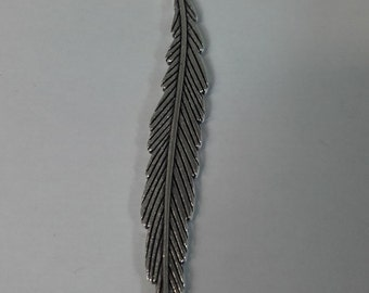 Silver plated bookmark/charm