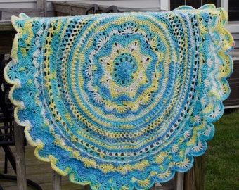 Intricate Crochet Baby Blanket - Made to Order