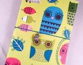 Fabric Fauxdori Travelers Notebook Cover