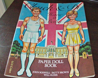 Vintage CHUCK & DI Have a Baby/Paper Doll Book