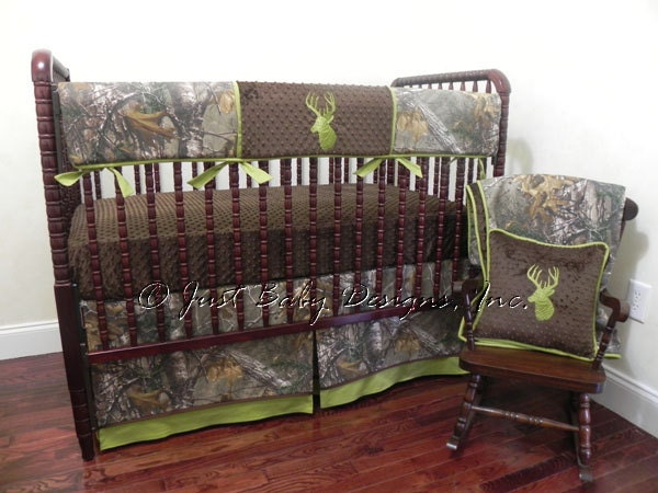 Camo Baby Bedding Set Ryker Boy Baby Bedding Crib Rail