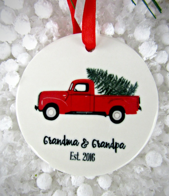 Baptism Ornament Christmas Ornament By Ryellecreations On Etsy: Personalized Christmas Ornament Grandparents Ornament