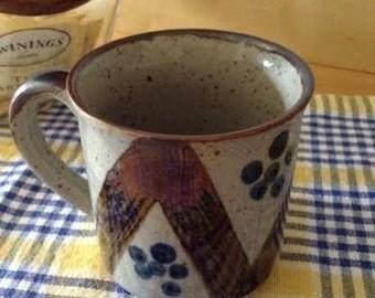 Stoneware Pottery Mug - 1970's
