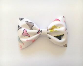 Lingerie hair bow lingerie bow hair clip