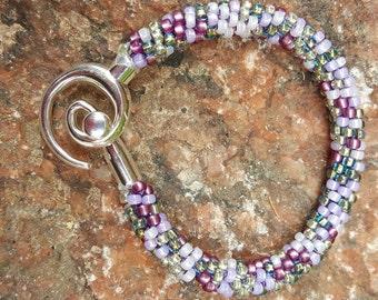 Zu Zu's Petals Kumihimo Beaded Bracelet