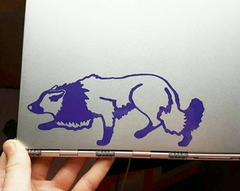 Border Collie Silhouette Decal