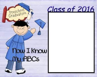 8x6 Preschool Graduation Picture Frame