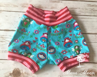 Nested Doll Cuff Shorts 24 months