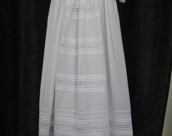 ISOBELLA  Heirloom Christening Gown  Available sizes - 3 months and 6 months old