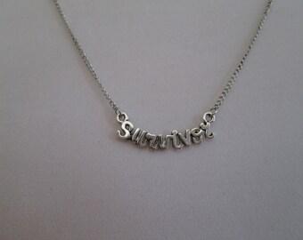 Survivor Chain Necklace