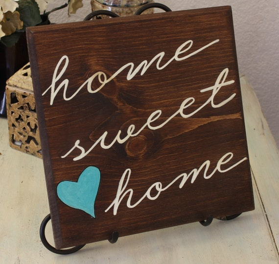 Personalized Home Decor Wooden Sign By VintageMoonStudios