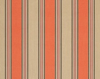 SUNBRELLA Indoor / Outdoor Fabric By The Yard ~ Passage Poppy