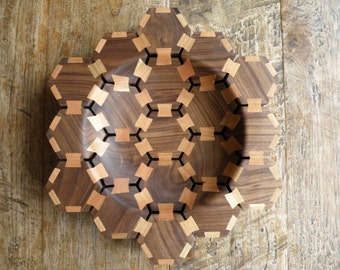 Hexagon butterfly bowl