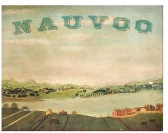 Nauvoo Folk Art - Archival Print