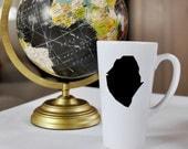 Sierra Leone 17oz  Mug.  Travel, Mission, deployment, Custom, Coffee, Adoption