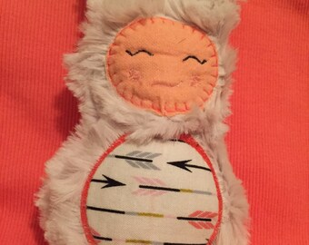 Luxury soft faux fur bunny stuffie