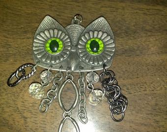 Owl Necklace, Owl Jewelry, Owl Necklace Jewelry
