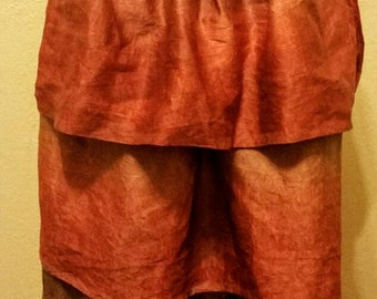 The Phoenix Bustle Skirt. One of a kind!