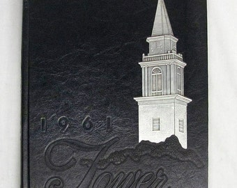1961 The TOWER-Wheaton College Year Book-Wheaton Illinois