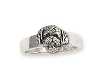 Shih Tzu Ring Handmade Silver Shih Tzu Jewelry SZ21H-R