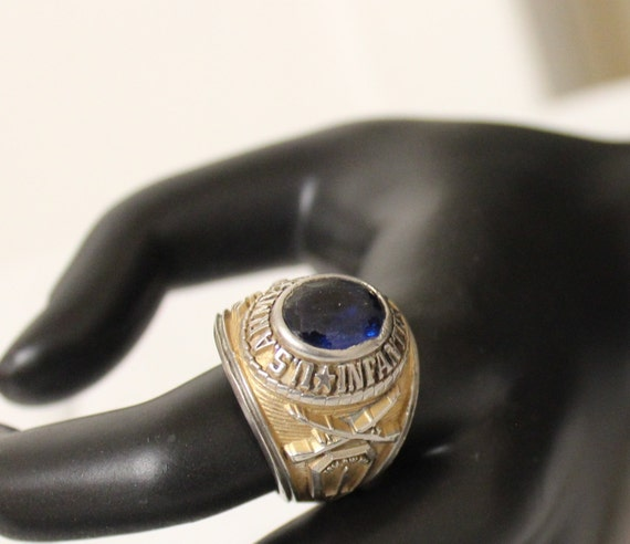 Us Army Class Rings: Items Similar To Vintage Army Class Ring Josten's Military