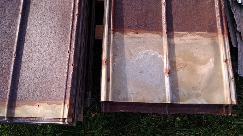 Reclaimed Metal Roofing Barn Tin Beautiful Rustic Weathered