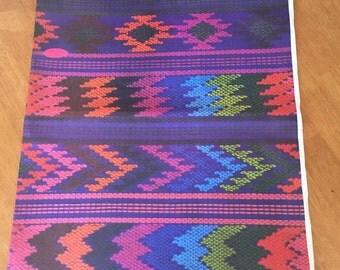 SALE Guatemalan Traditional Huipil Gift Wrapping Paper (1 Sheet)