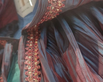 MADE TO ORDER - Fairy Queen Cloak in taffetta