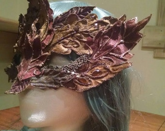 OOAK Masquerade  Forest Mask