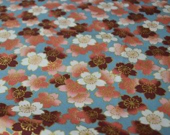 Kona Bay Cherry Blossom Quilting Fabric