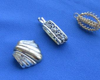 Lot Of Vintage Metal Pendants