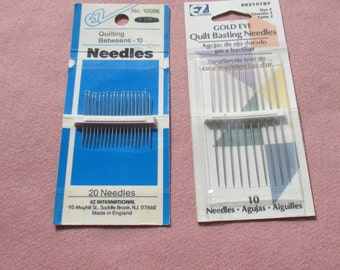 Lot Of Quilting Needles