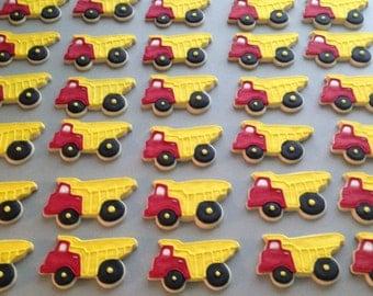 Dump Truck Sugar Cookies